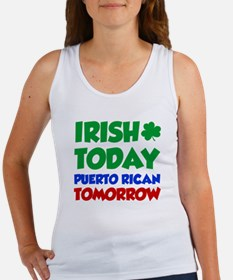 Irish Today Puerto Rican Tank Top
