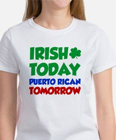 Irish Today Puerto Rican T-Shirt