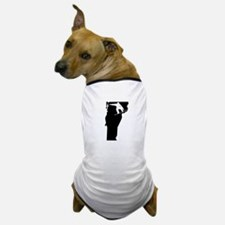 Vermont Snowboarder Dog T-Shirt