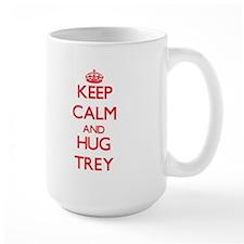 Keep Calm and HUG Trey Mugs