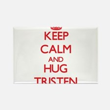 Keep Calm and HUG Tristen Magnets