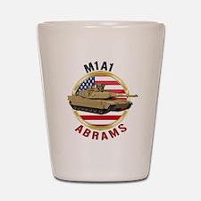 M1A1 Abrams Shot Glass