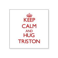 Keep Calm and HUG Triston Sticker