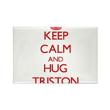 Keep Calm and HUG Triston Magnets