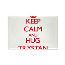 Keep Calm and HUG Trystan Magnets