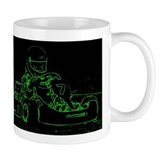 Kart Racer in Green Mugs