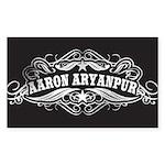 AaronAryanpur.com Rectangle Sticker