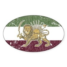 Persian Pride Oval Decal