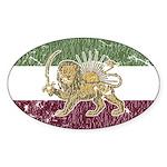 Persian Pride Oval Sticker