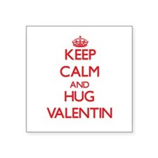 Keep Calm and HUG Valentin Sticker