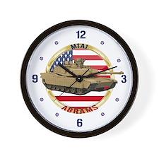 M1A1 Abrams Wall Clock