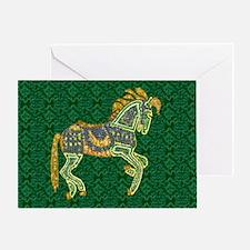 Jewel Art Horse Greeting Card