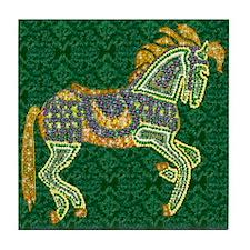 Jewel Art Horse Tile Coaster