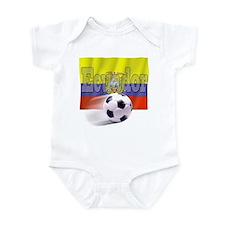 Soccer Flag Ecuador Infant Bodysuit