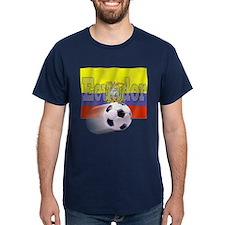 Soccer Flag Ecuador T-Shirt