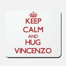 Keep Calm and HUG Vincenzo Mousepad