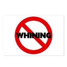No Whining Postcards (Package of 8)