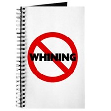No Whining Journal