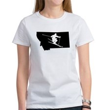 Montana Skier T-Shirt