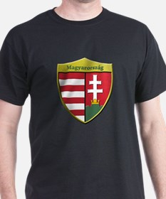 Hungary Metallic Shield T-Shirt