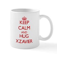 Keep Calm and HUG Xzavier Mugs