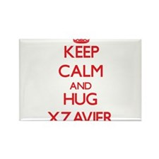 Keep Calm and HUG Xzavier Magnets