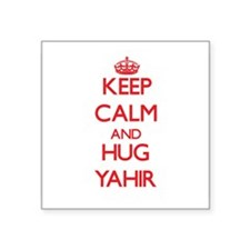 Keep Calm and HUG Yahir Sticker