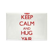 Keep Calm and HUG Yair Magnets