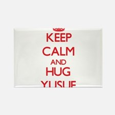 Keep Calm and HUG Yusuf Magnets