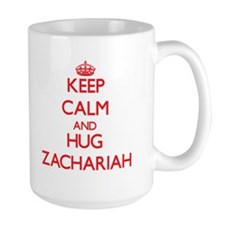 Keep Calm and HUG Zachariah Mugs