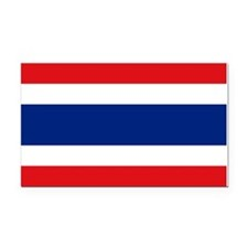 Thailand Flag Rectangle Car Magnet