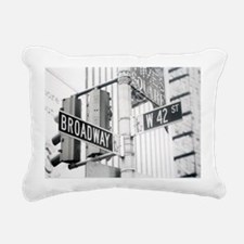 NY Broadway Times Square - Rectangular Canvas Pill