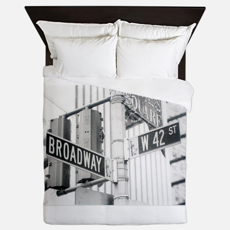 NY Broadway Times Square - Queen Duvet