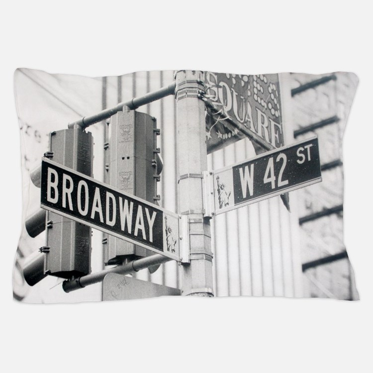 NY Broadway Times Square - Pillow Case