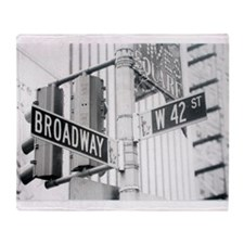 NY Broadway Times Square - Throw Blanket