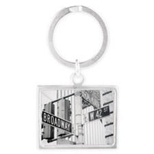 NY Broadway Times Square - Landscape Keychain