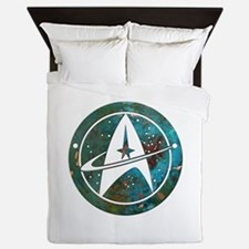 Star Trek logo Steam Punk Copper Queen Duvet