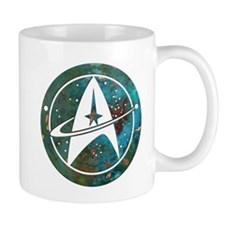 Star Trek logo Steam Punk Copper Mugs