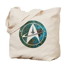 Star Trek logo Steam Punk Copper Tote Bag