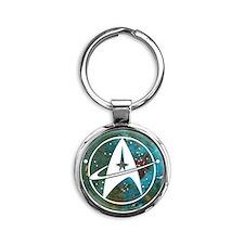 Star Trek logo Steam Punk Copper Keychains