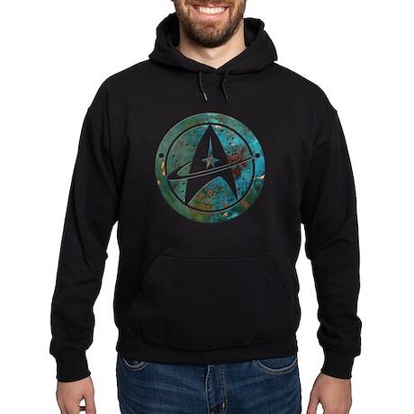 Star Trek logo Steam Punk Copper Hoodie