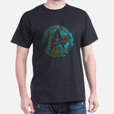 Star Trek logo Steam Punk Copper T-Shirt Men's T-Shirt