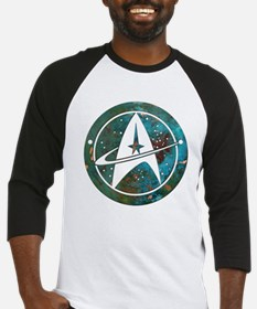 Star Trek logo Steam Punk Copper Baseball Jersey