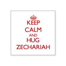 Keep Calm and HUG Zechariah Sticker