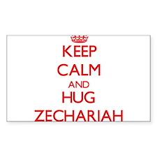 Keep Calm and HUG Zechariah Decal