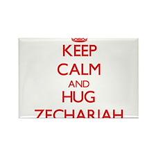 Keep Calm and HUG Zechariah Magnets