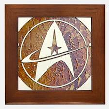 Copper Trek Framed Tile