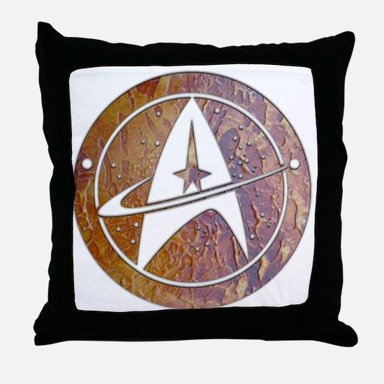 Copper Trek Throw Pillow