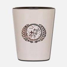 Copper Federation Logo Shot Glass