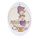 Mother Goose Oval Ornament